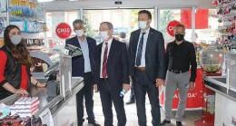 CHP Konya İl Başkanı Barış Bektaş, esnaf ve vatandaşların sorunlarını dinledi.