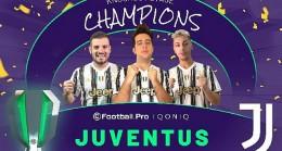 eFootball.Pro IQONIQ 2020/21 Sezonu şampiyonu Juventus!