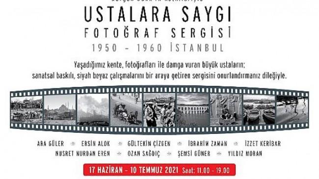"""Fotoğrafın Değerleri """"Ustalara Saygı"""" Sergisi'nde"""