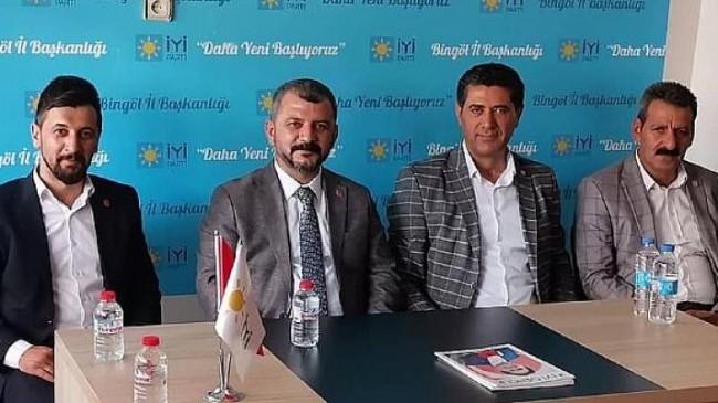 İYİ Parti Bingöl İl Başkanlığı'na Saadet Partisi'nden Nezaket Ziyareti