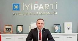 İYİ Parti Şanlıurfa il başkanı Mehmet Fedai Çakmaklı, gündeme dair önemli açıklamalarda bulundu.