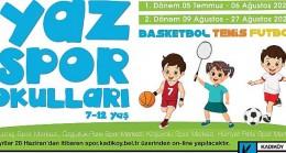 Kadıköy'de yaz spor okulları için  kayıtlar başladı