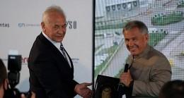 Tataristan Cumhurbaşkanı Minnihanov ile Sanayi ve Teknoloji Bakanı Varank büyük çaplı yatırım için GEBKİM'deydi