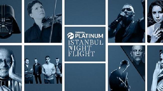 Turkcell Platinum İstanbul Night Flight 2021 Ağustos'ta başlıyor