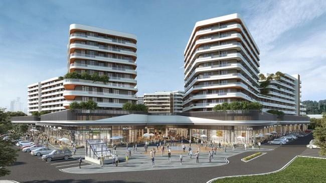 Ankara'nın 1000 konutluk Rezidans, AVM ve  Meydan Projesi Velux Ankara Yükseliyor