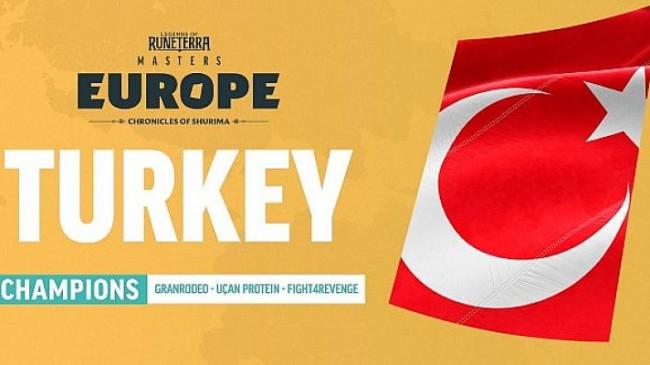 Avrupa'daki en iyi ülkelerin birbirleriyle yarıştığı Legends of Runeterra Masters Europe şampiyonası sona erdi.