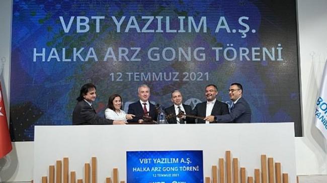 Borsa İstanbul'da gong VBT Yazılım için çaldı!