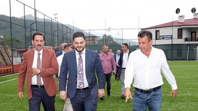 BTP Lideri Hekimoğlu Trabzon Kulubün ziyaret etti