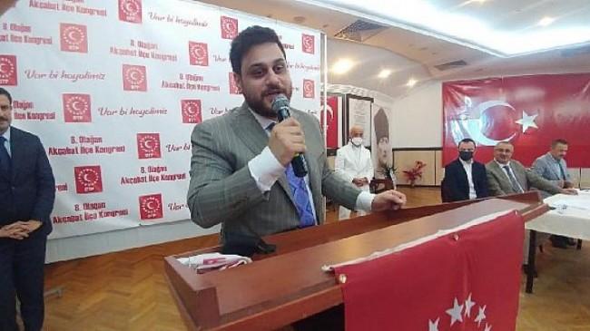 BTP Lİderi Hüseyin Baş, Akçaabat kongresinde konuştu
