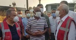 CHP Genel Başkanı Kılıçdaroğlu Manavgat Yangın Bölgesinde