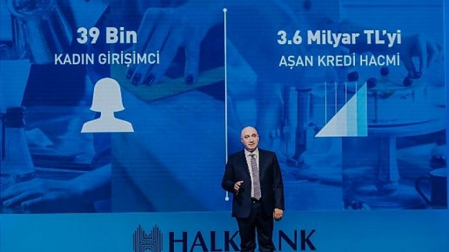Halkbank'tan istihdama dönüşen destek