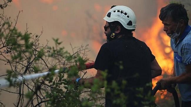 Marmaris'te ilk belirlemelere göre; 1 fabrika, 10 ev, 1 araç yandı