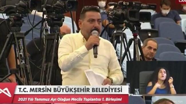 Mhp'li meclis üyesi Önel'den meclis'te sanayi sitesi çıkışı