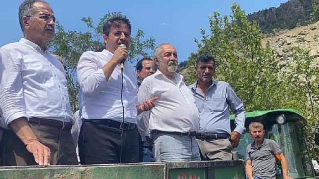 Milletvekili Tutdere tütün eyleminden iktidara seslendi: Çıkardığınız yasa Adıyaman'ın huzurunu kaçırdı
