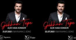 NG Hotels Kurban Bayramı'nda Gökhan Tepe'nin açık hava konserleriyle bayram coşkusu yaşatacak
