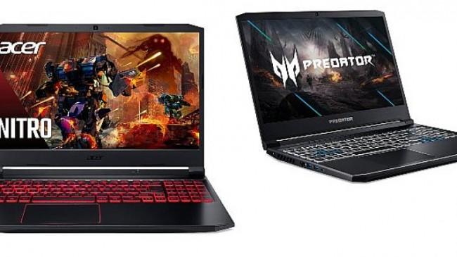 NVIDIA GeForce RTX™ 30 Serisi GPU'lar, Acer'ın dizüstü oyun bilgisayarlarına yüksek performans ve güç veriyor