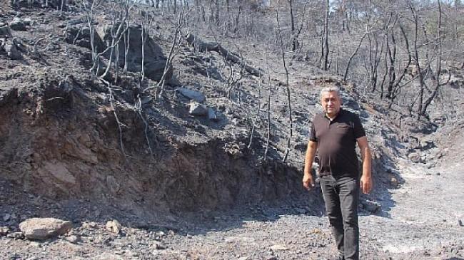 Serter'den Hükümete yangın tepkisi
