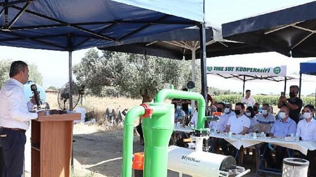 Tire'de Su Kaynaklarının Doğru Kullanımı İçin Önemli Bir Proje Daha Hayata Geçti