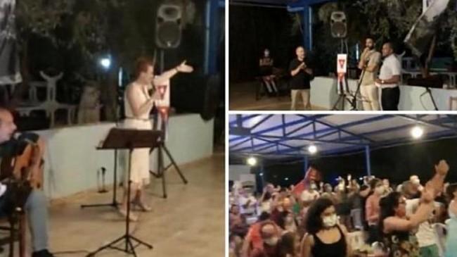 TKP Karaburun kampında coşkulu Küba gecesi