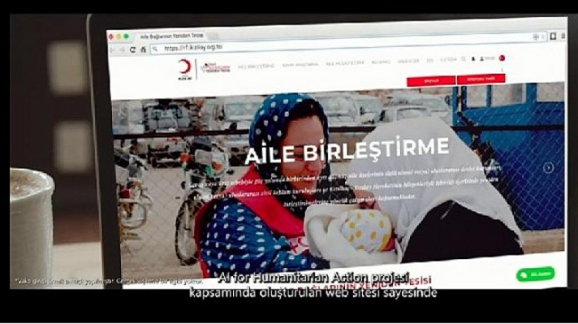 Türk Kızılay ve Microsoft Türkiye iş birliği Umut Veren Çalışma: Aile Bağlarının Yeniden Tesisi