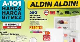 Uygun fiyatlı teknolojik ürünlet 15 Temmuz'dan itibaren A101 Marketlerinde!