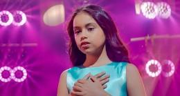 11 yaşındaki Azeri şarkıcı, Türkiye yangınları için gözyaşı döktü!
