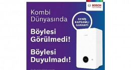 """Bosch Termoteknoloji """"Geniş Kapsamlı Garanti"""" ile Bosch kombi sahiplerinin hayatını kolaylaştırmaya devam ediyor!"""