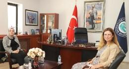 İnönü Kaymakamı'ndan Eskişehir Büyükşehir Belediyesi'ne ziyaret