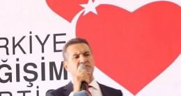 TDP Genel Başkanı Mustafa Sarıgül, Samsun 1.Olağan Kongresi'nde basın toplantısı düzenledi.