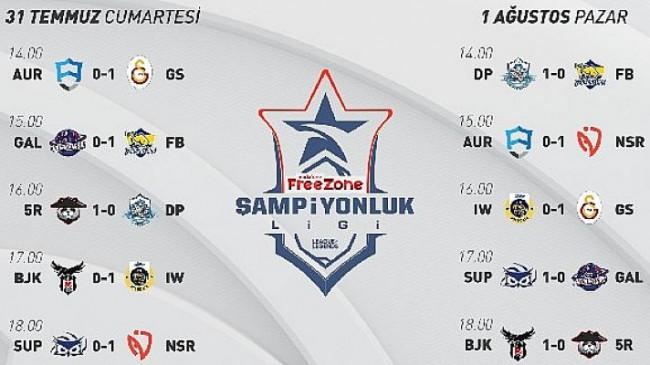 VFŞL 8. hafta maçları tamamlandı