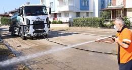 Yalova Belediyesi temizlik ordusu çalışmalarına devam ediyor