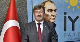 Başkan Ali Ateş, İYİ Parti'ye yönelik sözlerinden ötürü Cahit Özkan'a tepki gösterdi