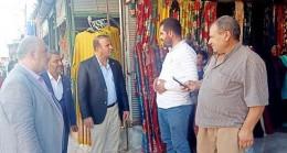 İyi Partili Çakmaklı Harran'da Esnaf Ziyaretinde Konuştu