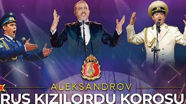 """""""Manavgat İyilik Hareketi"""" Öncülüğünde; Rus Aleksandrov Kızıl Ordu Korosu ve Haluk Levent, Manavgat'ın Yaralarını Sarmak için Sahnede!"""