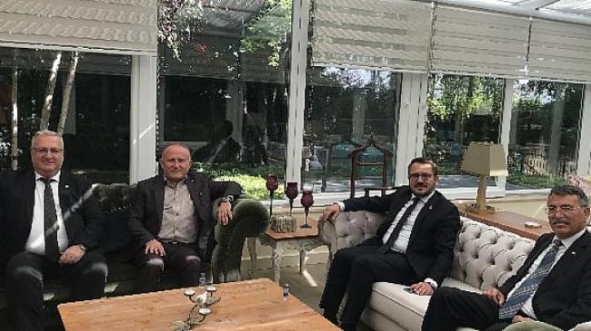 Millet İttifakı Ankara İl Başkanları bir araya gelerek gündemi değerlendirdiler