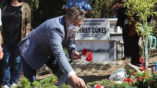 Tuncel Kurtiz vefatının 8'inci yılında Edremit'te anıldı