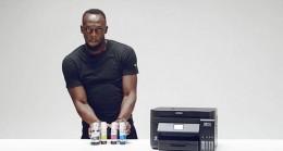 Epson, 90 tasarruflu yazıcıyı dünyanın en hızlısı Usain Bolt ile tanıtacak